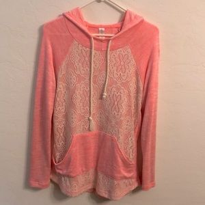 Gorgeous lace front hoodie size 11